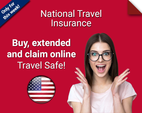 national travel insurance united states